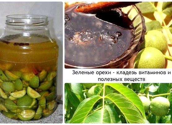Как делать настойку грецкого ореха