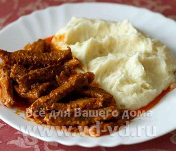 Горячие блюда из курице