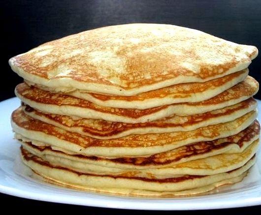 Рецепт блинов толстых с пошагово
