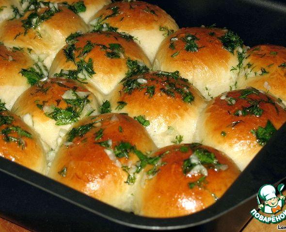 Рецепт пампушек с чесноком к борщу с фото пошагово