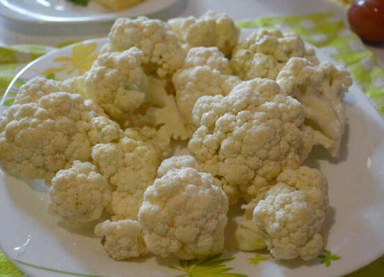 Цветная капуста в кляре рецепт с фото пошагово - 1000.menu