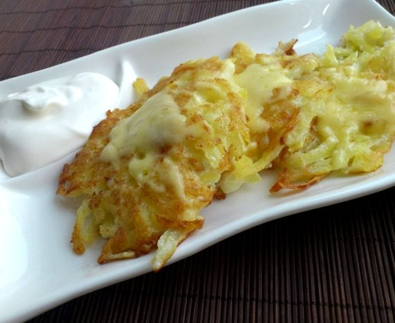 Картофельные драники с сыром рецепт
