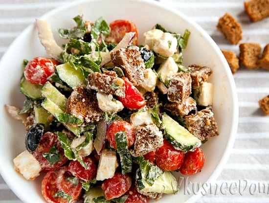Рецепт греческий салат соус рецепт