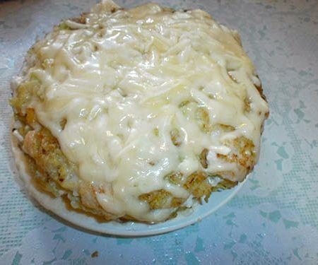 Пирог из кабачков на кефире рецепт