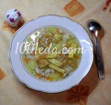 суп с грибами вешенками пошаговый рецепт с фото