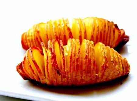 картофель кусочками в духовке рецепты с фото