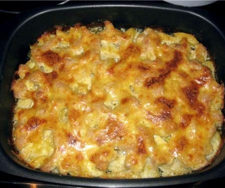 запеканка из куриного филе с картошкой в духовке