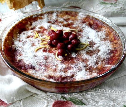 Запеканка творожная рецепт в духовке с манкой фото рецепт пошагово
