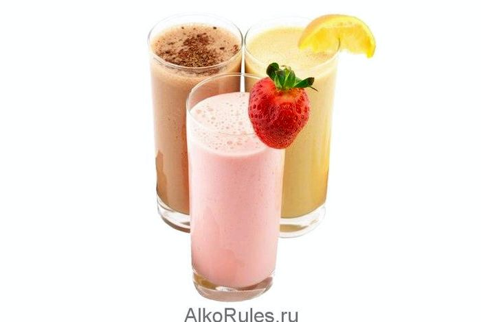 Как сделать молочный коктейль без мороженого