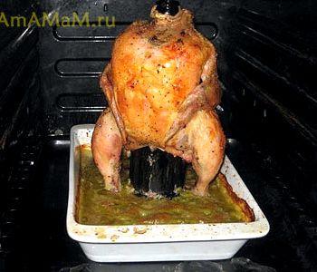 Цыпленок гриль в духовке рецепт