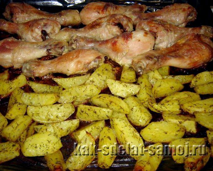 Что приготовить из бедра курицы с фото рецепты
