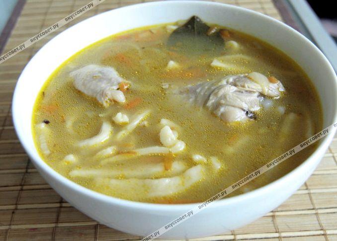 Суп лапша рецепт пошагово с фото
