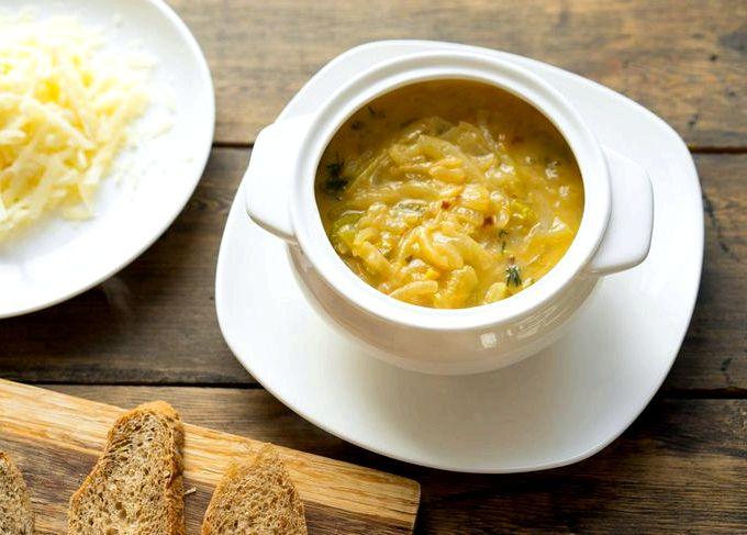 луковый суп по чешски рецепт