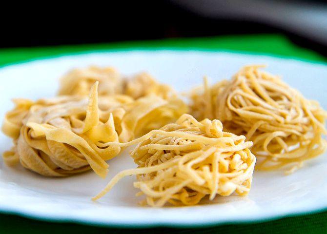 Как приготовить домашние макароны