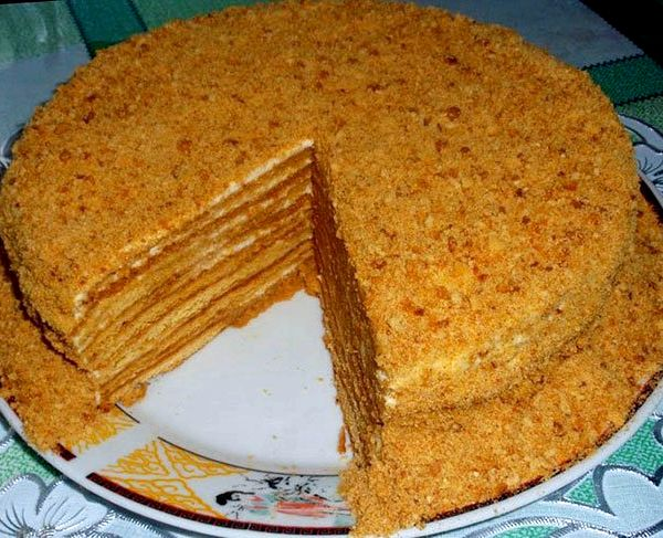 Вкусный торт медовик рецепт