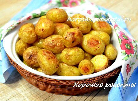картошка с сосисками в духовке рецепт
