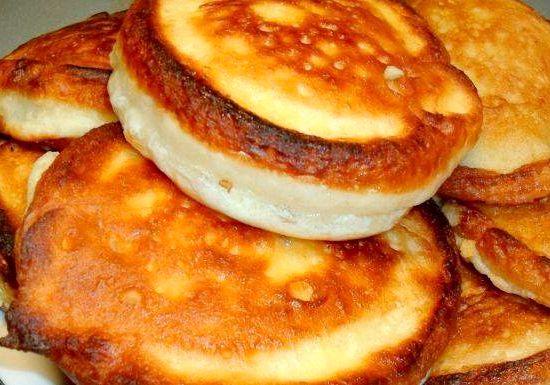 рецепты оладьев на кефире в духовке
