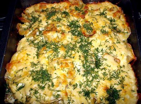 Отбивные с картошкой в духовке рецепт с фото из свинины