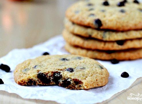 Рецепт американского печенья шоколадной крошкой