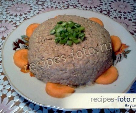 Печеночный паштет из свиной печени рецепт с фото пошагово