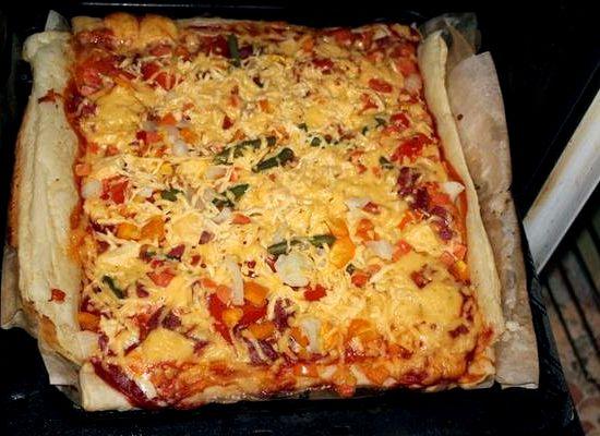 рецепт для теста пиццы в духовке в домашних условиях