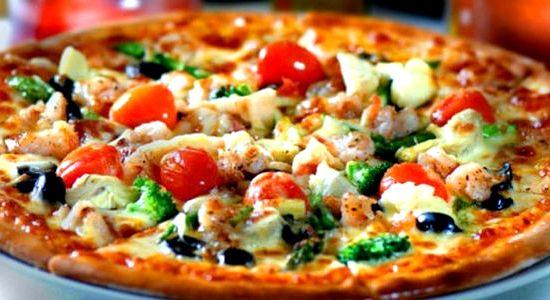 пицца морская рецепт в домашних условиях в духовке