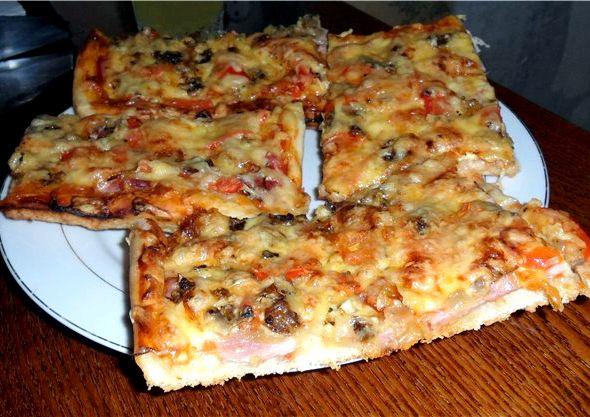 вкуснейшая пицца в духовке рецепт