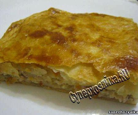 пирог с фаршем и картошкой в мультиварке рецепты с фото