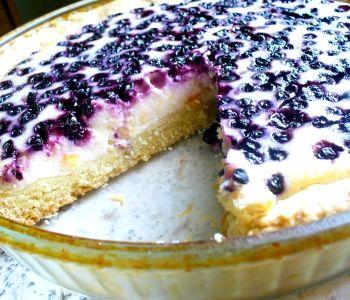 Творожный пирог с ягодами в духовке рецепт с пошагово