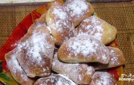 бездрожжевые пирожки с вареньем в духовке рецепт