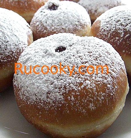 Пышные пончики со сгущенкой рецепт 92
