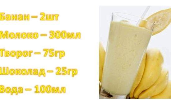 Протеиновый коктейль в домашних условиях для роста мышц для мужчин рецепт
