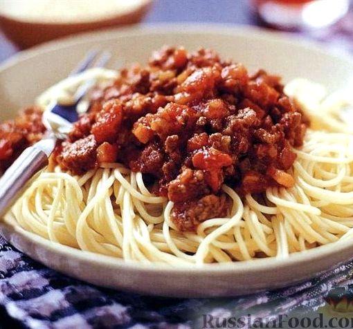 болоньез рецепт с томатной пастой
