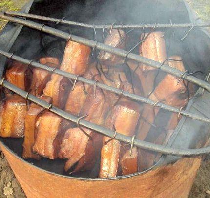 Как закоптить мясо в домашних условиях горячего копчения