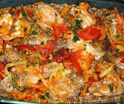 рецепт мяса курицы в духовке