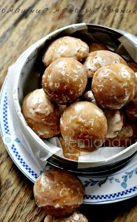 Рецепт медовых пряников с фото в домашних условиях