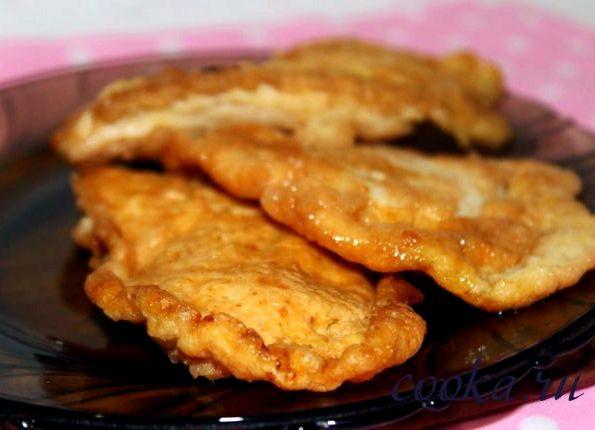 Котлеты из куриного филе в кляре рецепт