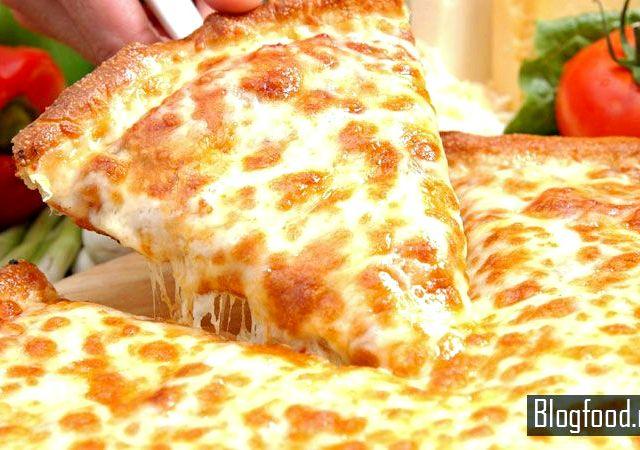 пицца бездрожжевое тесто рецепт в домашних условиях