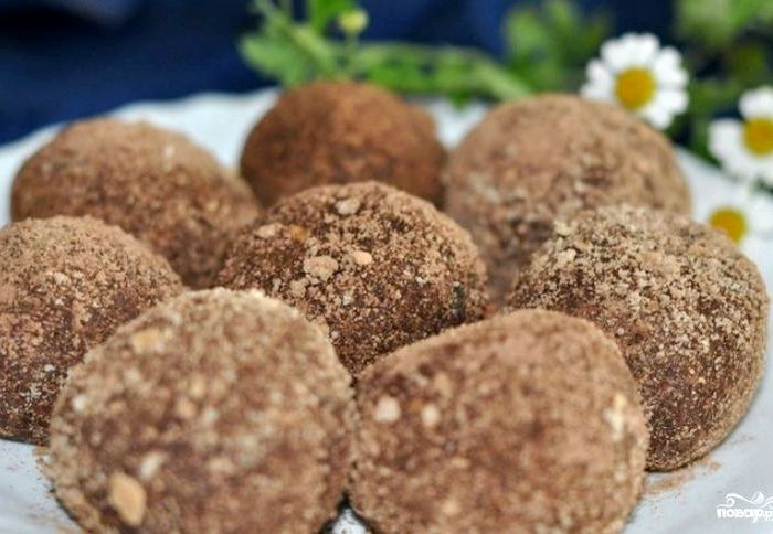 пирожное картошка рецепт из печенья без сгущенки с фото пошагово