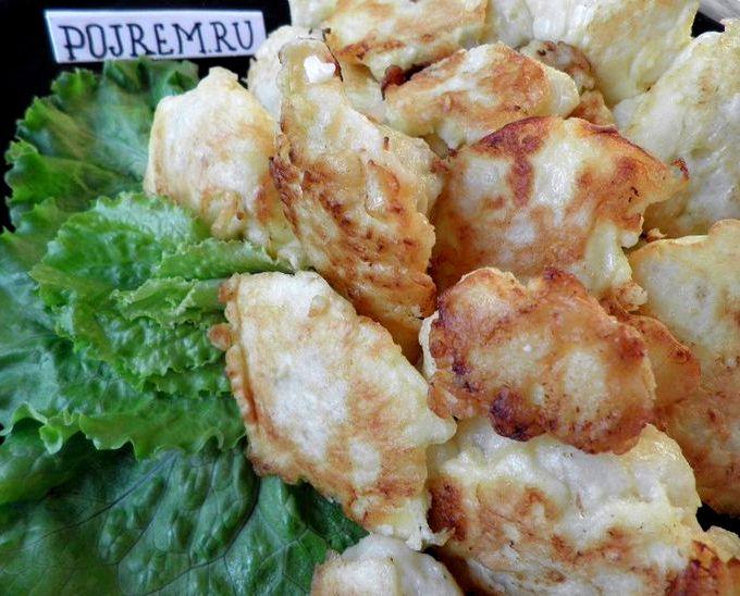 Цветная капуста в кляре пошаговый рецепт со сметаной