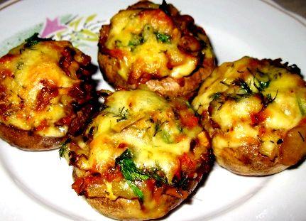 Картофель фаршированный с мясом в духовке рецепт с фото