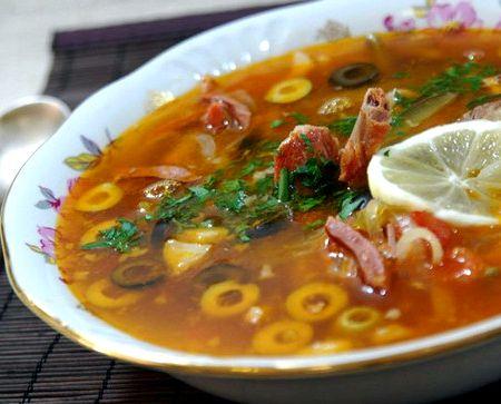 Рецепт суп фасолевый с бараниной рецепт