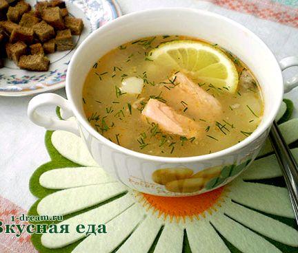 рецепт финского супа из горбуши