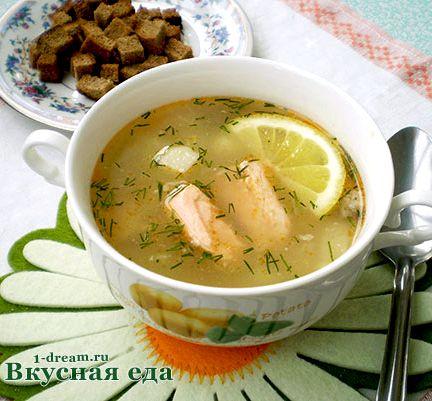 Рецепт приготовления рыбного супа из консервов горбуши