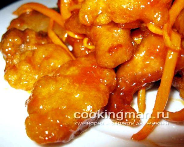 Свинина в кисло-сладком соусе с перцем рецепт #7