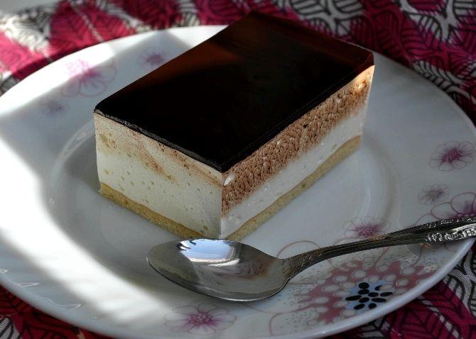 Птичье молоко пирог рецепт с пошагово