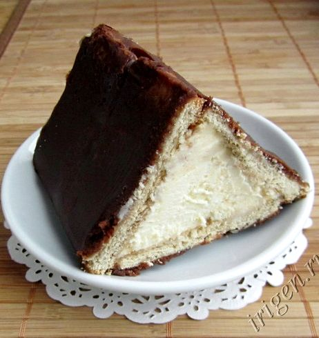 торт с творога и печенья без выпечки