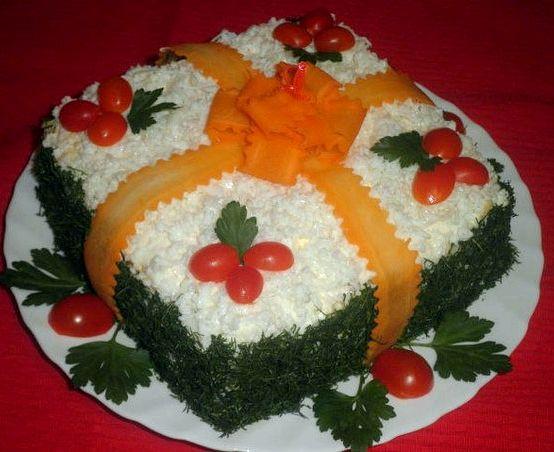 рецепты новых вкусных салатов с фото к праздничному столу