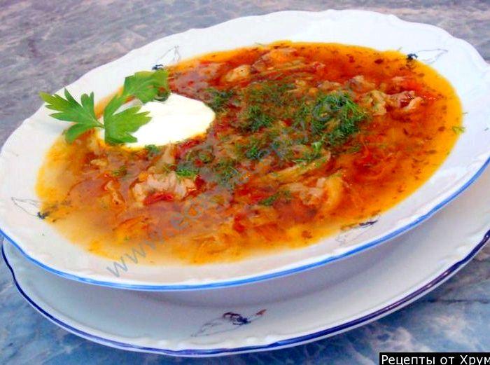 Щи из свежей и квашеной капусты рецепт с пошагово