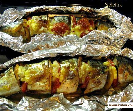 судак с овощами запеченная в духовке рецепт с фото